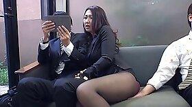 Bossboy Kasille fucks fresh slut in office