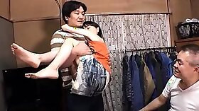 Best Japanese model Choky Ice in Crazy JAV uncensored Threesomes video