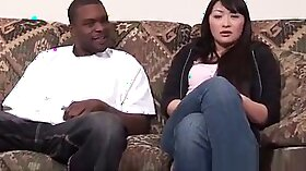 Asian Ebony Turns The Delectable Sex Out In Public