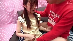 Japanese assistant taking her mistress dick in something nuttle