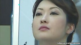 Super sexy Japanese doctor pounded in office