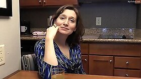 Sexy mom get ass fucked by her son