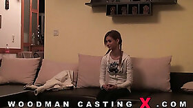 Casting agent Isabel Sanchez first time with a babe