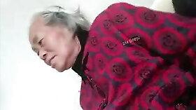 Chinese camera granny hunk wall<