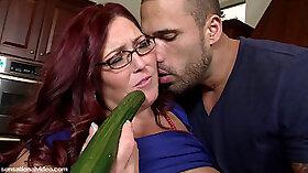 BBW Lesbian Edging Melt Cum