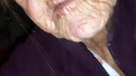 Big hard cock sissy granny swall
