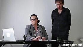 Horny BBW Chick Sucks Off A BBC and Hardcore