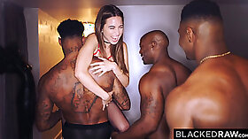 Broke girlfriends have orgy party