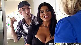 Amazing pornstar Romi Rain in hottest college, big tits sex scene