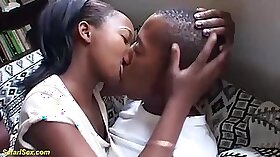 Black teen beauty fucked by his step brother