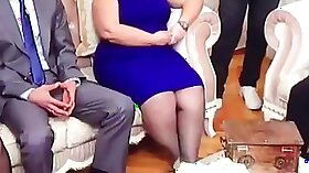 Hot ebony slut Jessa Rhodes in wet pantyhose twerking