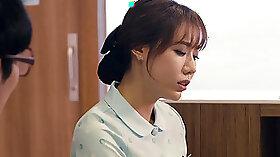 Korean amatuer nurse fucks customer
