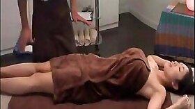 Japanese oil massage as client