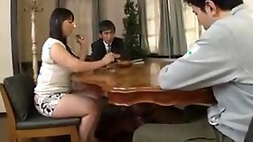 Japanese housewife assfucked hard