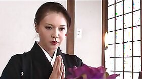 Horny Japanese Mom Fucked During Service Job