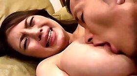 Bosomy Japanese mom Valentina Hinahira screws his lovers dick