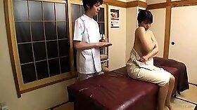 Big tits Japanese 20yo College Girl super hot oil massage poolside fuck