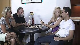 Alluring pretty Oriental goddess Angel Wicky shared one tough dick with James Richardson