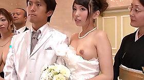 Asian Wedding Party Sucks and Fucks