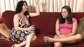 Naked lesbians tease by my mum babysitter