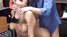 Cute everyday chick gets punish pounded by a pervy cop