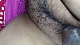 Hairy pussy of a sleeping mother gets his ass fucked deep