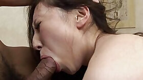 Thirsty Asian lady chokes on this BBC right here