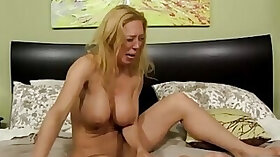 Crying mommy destroyed by her own stepson