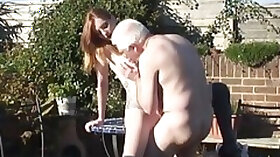 Old grandpa fucks zara durose