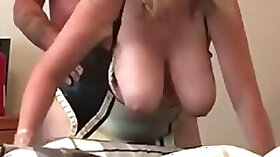 Exotic private curvy, blonde, chubby porn video