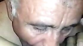 Turkish Grandpa Licking Mature Womans Pussy