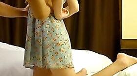 Korean b list model prostitution caught on hidden cam