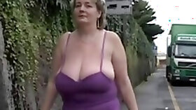 Solo Mature BBW with Big Boobs