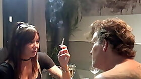 Forced Smoking Smoking Domination