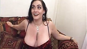 Chubby granny doggystyle creampie with older lad