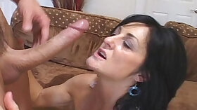 Amateur mature talks to young housewife