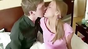 Blonde Slut Seduced By Her Petite Booties