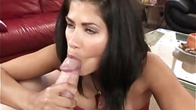 brunette milf loves to suck cock and ride it in the forest