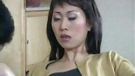 Asian Housewife Enjoying Hard In A Mai Dildo