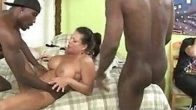 African sluts in interracial ass hardcore