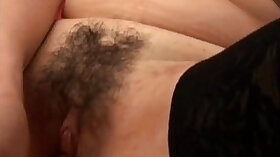 Blonde mom with hairy pussy getting pounded
