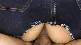 Asian babe got her tight pussy serviced with cock riding