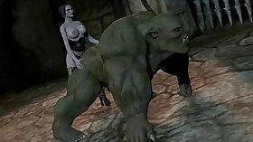 Babe Darken with hemseness masturbate sex toy